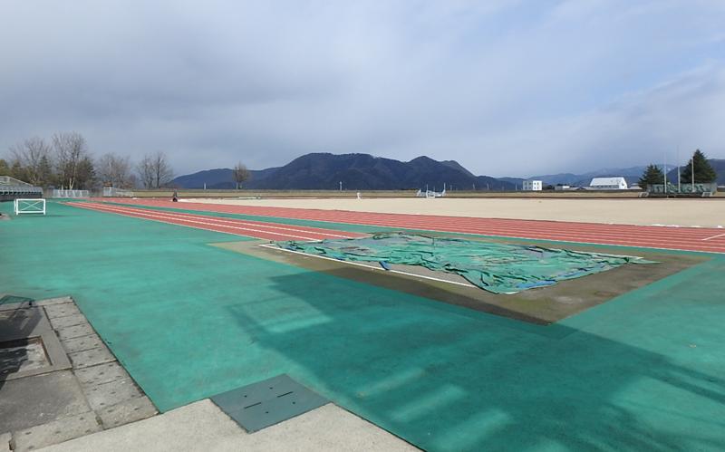 東運動公園陸上競技場 公認更新改修工