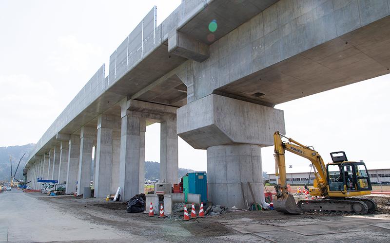 陸新幹線福井橋りょう工事伴う太田川付替工事(その2)